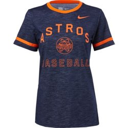 Women's Houston Astros Dry Slub Ringer Crew T-shirt