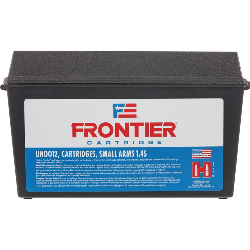 Hornady Frontier 5.56 NATO Caliber 55-Grain Centerfire Rifle Ammunition – Rifle Shells at Academy Sports