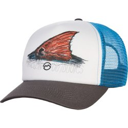 Men's Drawn Redfish Foam Cap