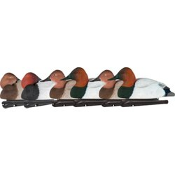 Foam-Filled Canvasback Decoys 6-Pack