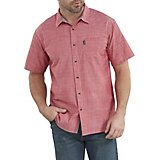 Dickies Men's X-Series Chambray Button Down Shirt