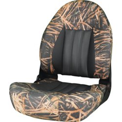 ProBax High-Back Camo Boat Seat