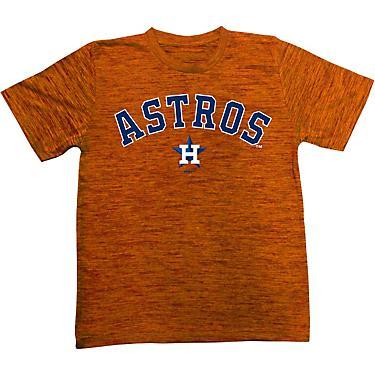 buy popular 219e1 92b4b Stitches Youth Houston Astros Space Dye T-shirt
