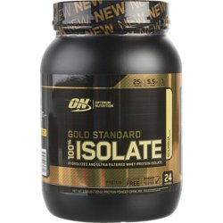 Gold Standard 100 Percent Isolate Protein Powder
