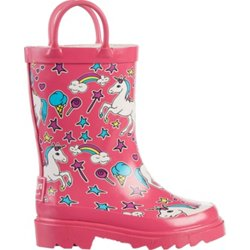 Toddlers' Unicorn Rubber Boots