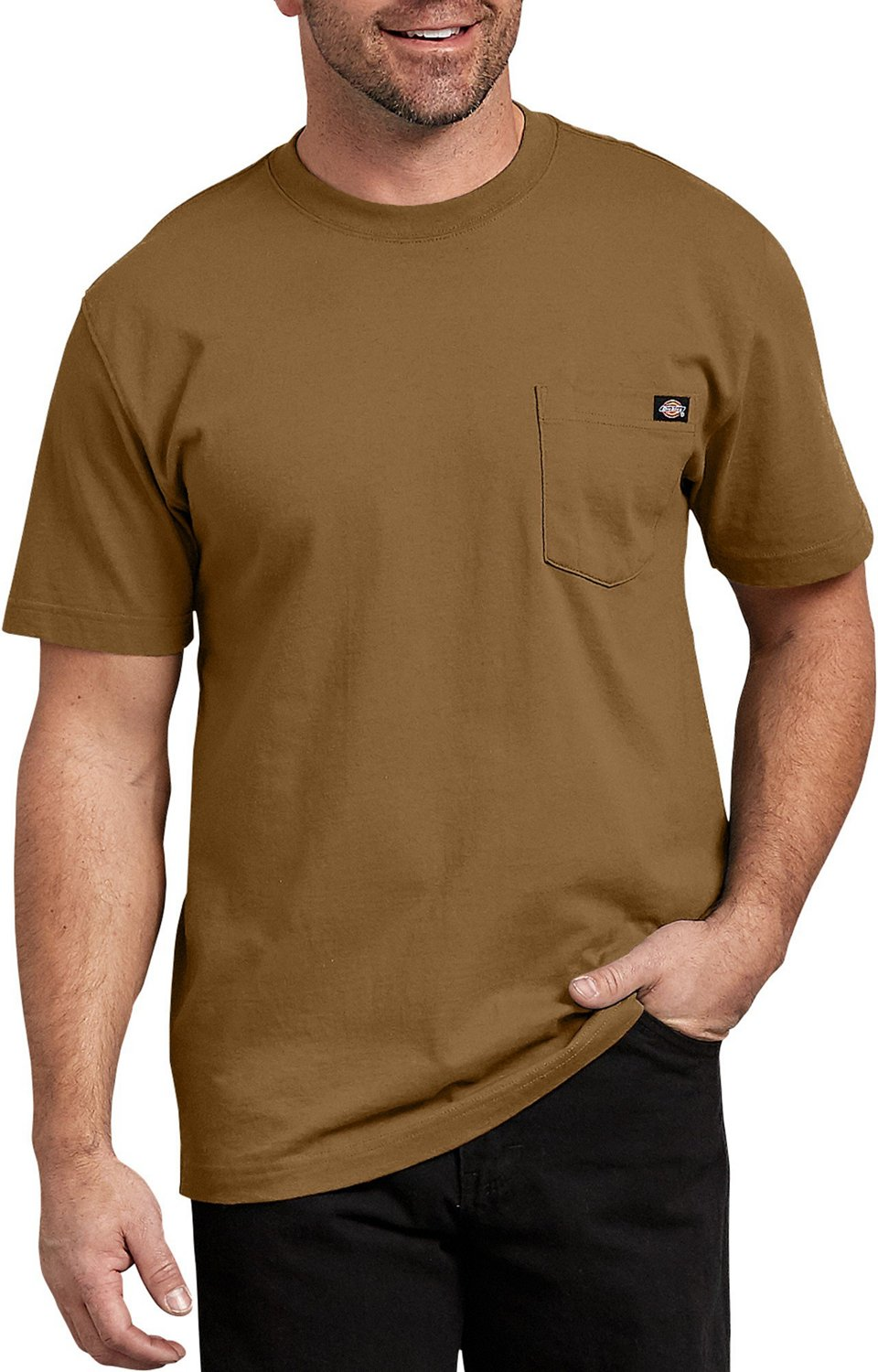 4137c9fce1b Display product reviews for Dickies Men s Short Sleeve Heavyweight Crew  Neck T-shirt