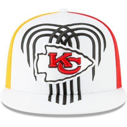 1fe1376760df99 New Era Men's Kansas City Chiefs 9FIFTY Snapback Draft Cap | Academy