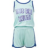BCG Toddler Girls' This Girl Rules Romper