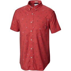 Men's Rapid Rivers Printed Button Down Shirt