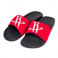 Forever Collectibles Boys' Houston Rockets Cropped Big Logo Slides