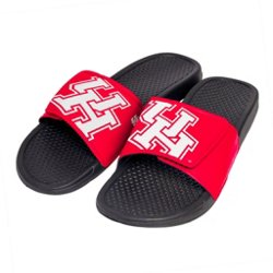 Boys' University of Houston Cropped Big Logo Slides