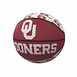 Logo University of Oklahoma Repeating Logo Mini-Size Basketball
