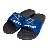 133c62d6f Boys  Dallas Cowboys Cropped Big Logo Slide Sandals