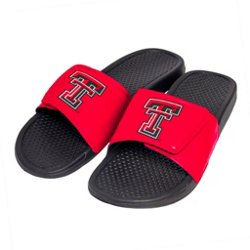 Boy's Texas Tech University Cropped Big Logo Slides