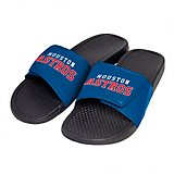 Forever Collectibles Men's Houston Astros Cropped Big Logo Slides