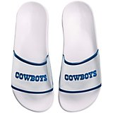 Forever Collectibles Women's Dallas Cowboys Clear Wordmark Slide Flip-Flops
