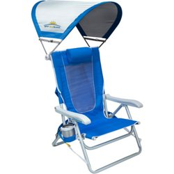 Waterside SunShade Backpack Beach Chair