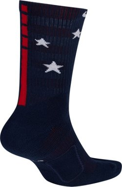 Elite Independence Star Basketball Crew Socks
