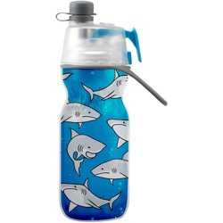 ArcticSqueeze Mist 'N Sip 12 oz Shark Water Bottle