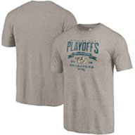Nashville Predators Men's 2019 Stanley Cup Playoff Participant Buzz Beater T-shirt
