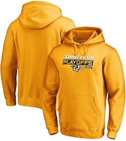 Nashville Predators Men's 2019 Stanley Cup Playoff Participant Body Checking Hoodie