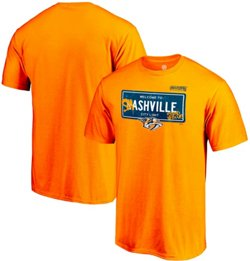 Nashville Predators Men's 2019 Stanley Cup Playoff Participant Charging T-shirt