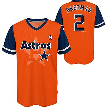 innovative design 94f7e 3e465 Majestic Boys' Houston Astros Alex Bregman 2 Play Hard Jersey T-shirt