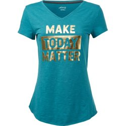 Women's Athletic Make Today Matter T-shirt