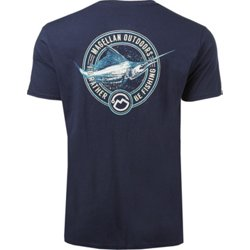 Men's Rather Be Fishing Logo Graphic T-shirt