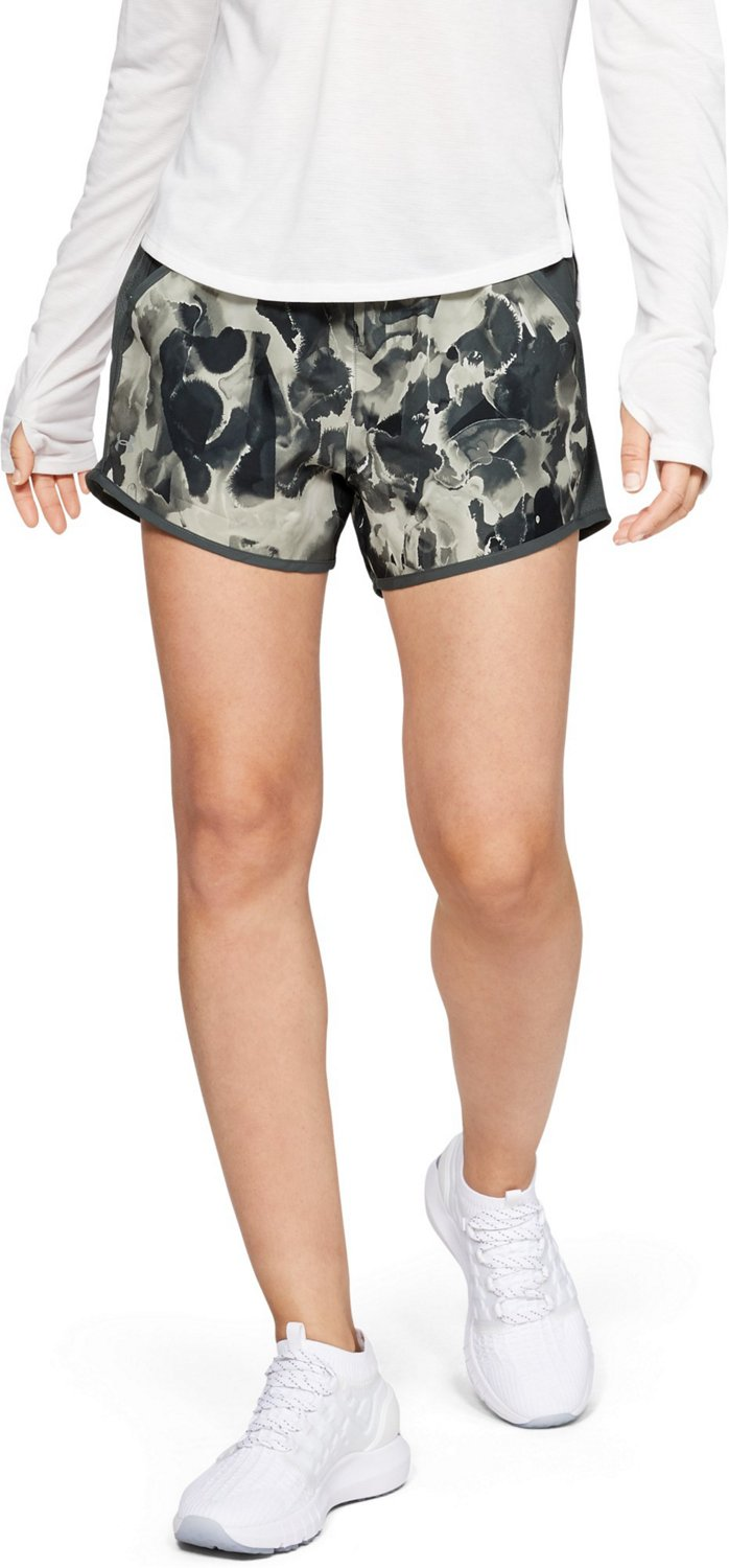 d12629333f Display product reviews for Under Armour Women's Fly By Printed Running  Short