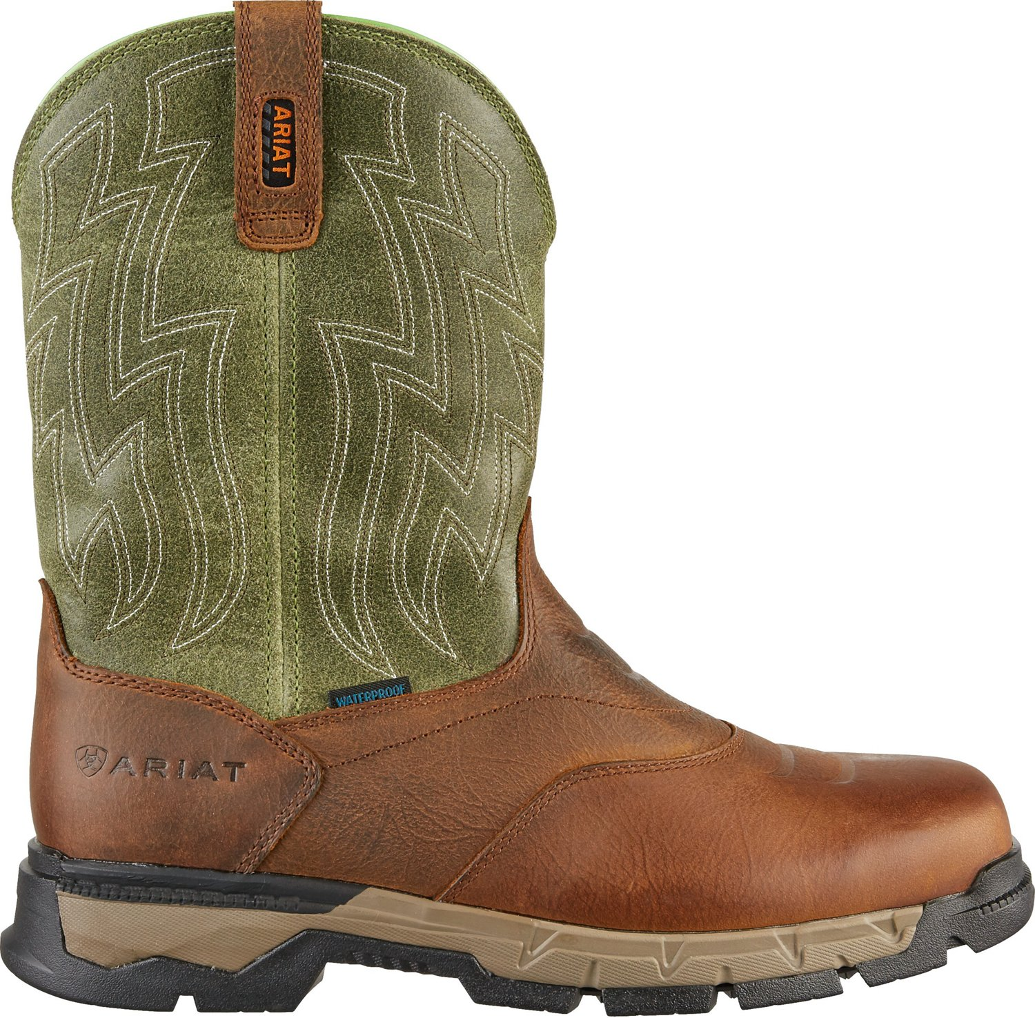 1849f38f2b3ab Display product reviews for Ariat Men's Rebar Flex H2O EH Western  Wellington Work Boots