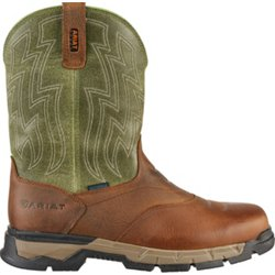 Men's Rebar Flex H2O EH Western Wellington Work Boots