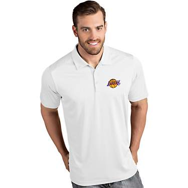 Antigua Men's Los Angeles Lakers Tribute Polo Shirt