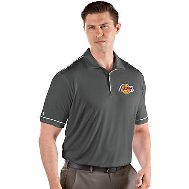 Antigua Men's Los Angeles Lakers Salute Polo Shirt