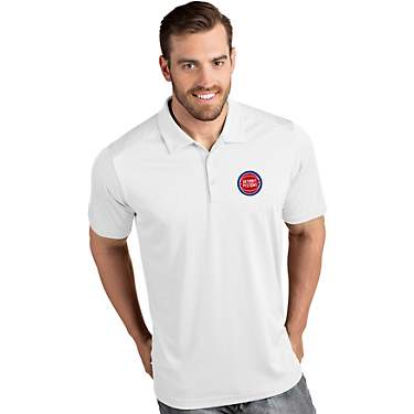 Antigua Men's Detroit Pistons Tribute Polo Shirt