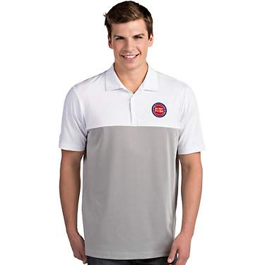 Antigua Men's Detroit Pistons Venture Polo Shirt
