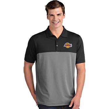 Antigua Men's Los Angeles Lakers Venture Polo Shirt