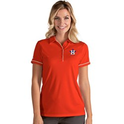 Women's Houston Astros Salute Short Sleeve Polo