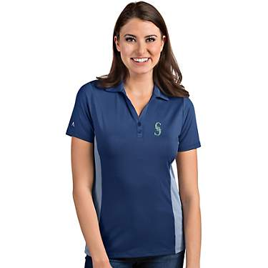 Antigua Women's Seattle Mariners Venture Polo Shirt