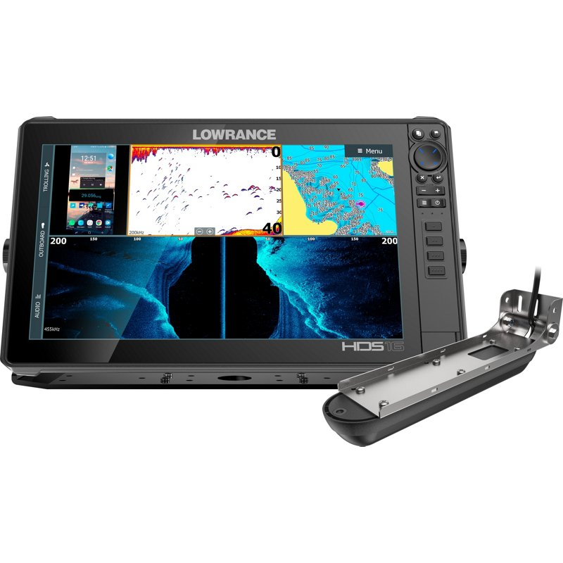 Lowrance HDS LIVE 16 Fish Finder - Marine Electronics And Radios at Academy Sports