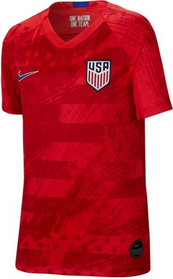 Boys' USA Stadium Standard Away Soccer Jersey