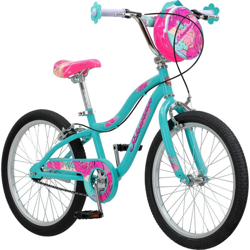 bfa1c5e8784 Schwinn Girls' Mist 20 in Bicycle Turquoise/Blue - Girl's Bikes at Academy  Sports