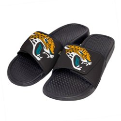 Boys' Jacksonville Jaguars Cropped Big Logo Slide Sandals