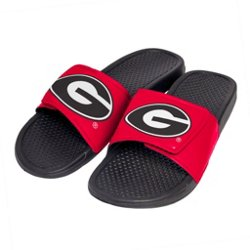 Boys' University of Georgia Cropped Big Logo Slide Sandals