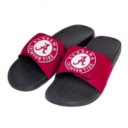 Men's University of Alabama Cropped Big Logo Slide Sandals