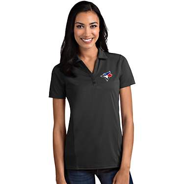 Antigua Women's Toronto Blue Jays Tribute Short Sleeve Polo Shirt