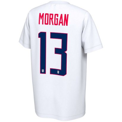 9803911fe2c ... Girls' 2019 Women's World Cup Morgan Name and Number T-shirt. World Cup  Clothing. Hover/Click to enlarge. Hover/Click to enlarge