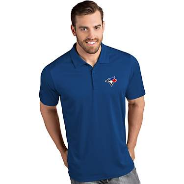 Antigua Men's Toronto Blue Jays Tribute Short Sleeve Polo Shirt
