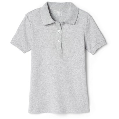 5b39bc97 French Toast @School Girls' Picot Collar Interlock School Polo Shirt ...