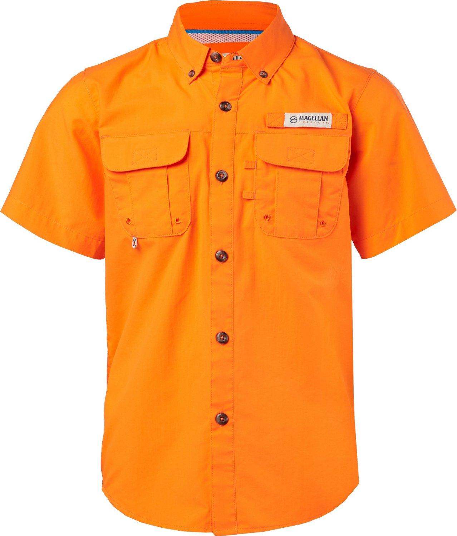 official photos 8fb60 7934b Display product reviews for Magellan Outdoors Boys  Laguna Madre Button  Down Shirt